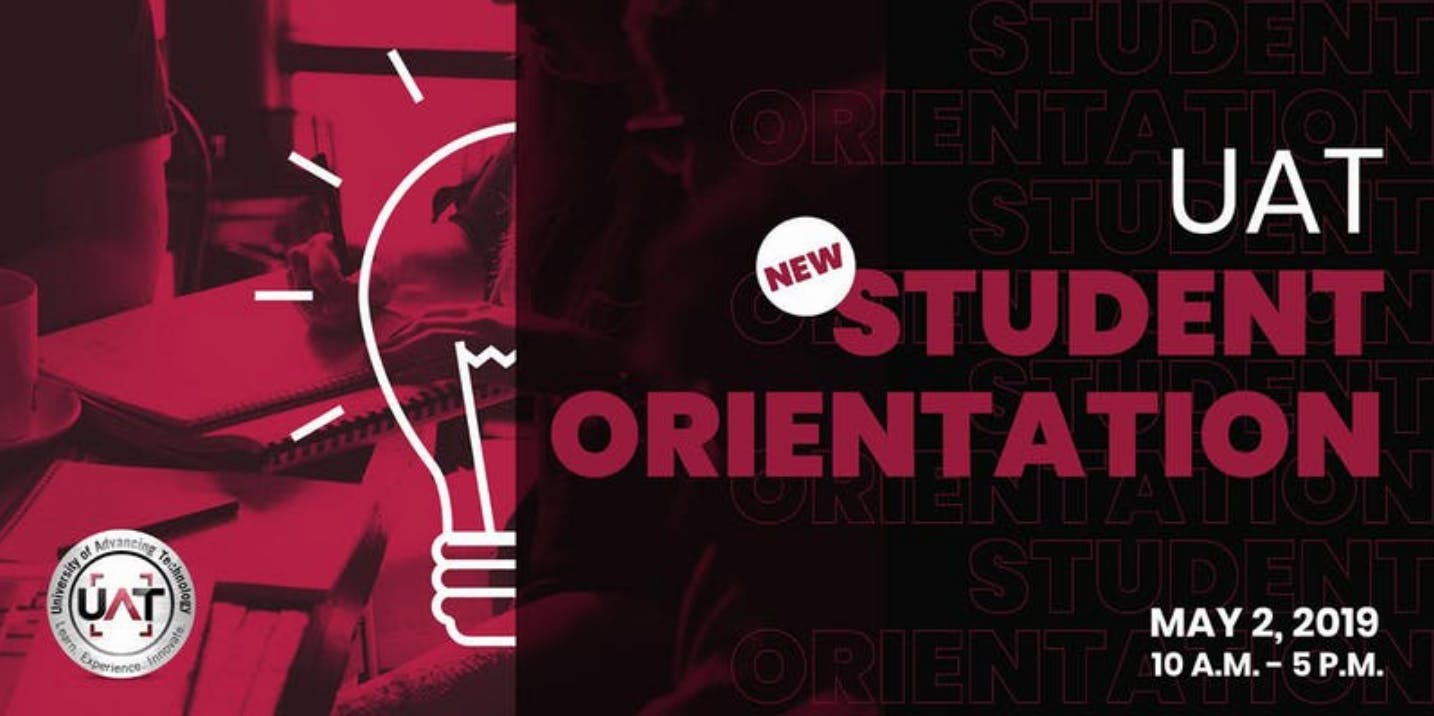 New Student Orientation - Summer 2019