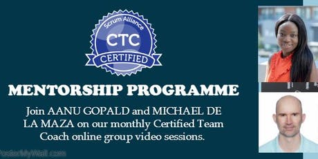 Certified Team Coach (CTC) Mentoring Group (bi-weekly meeting) tickets