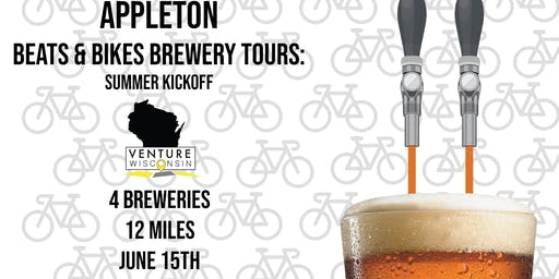 Appleton Biking Brewery Tour: Summer Kickoff