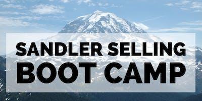 Sandler Sales Training Boot Camp.