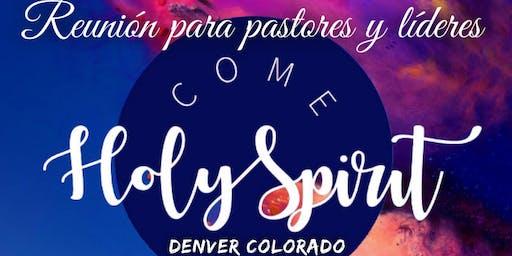 Reunion para pastores y lideres de La Viña en español en Colorado.