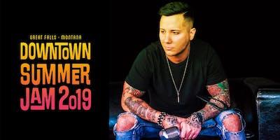 Carter Winters at Downtown Summer Jam