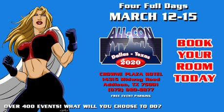 ALL-CON XVI: Over 400 Events! What Will You Choose To Do? tickets
