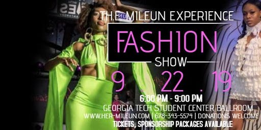 """T.H.E. Mileun Experience"" Fashion Show"