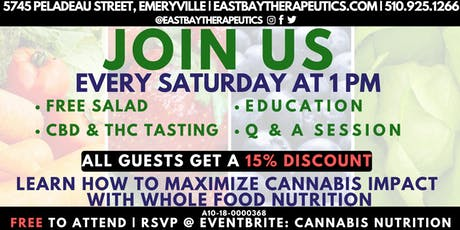 Cannabis Nutrition   Education and Social Event tickets