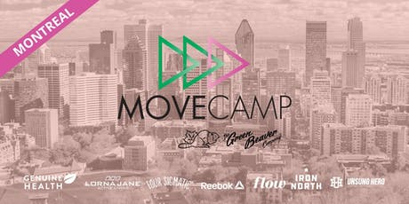 MoveCamp Montreal - Free Lunchtime Fitness Events next to McGill downtown campus tickets