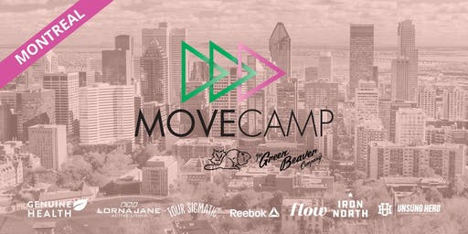 MoveCamp Montreal - Free Lunchtime Fitness Events next to McGill downtown campus