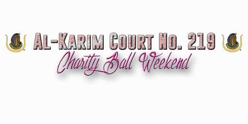 Al-Karim Court No. 219  Charity Ball Weekend