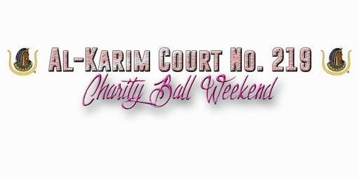 Al-Karim Court No. 219  Charity Ball Weekend
