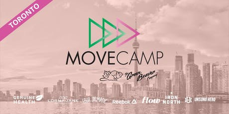 MoveCamp Toronto - Free Lunchtime Fitness Event at Nathan Phillips Square tickets
