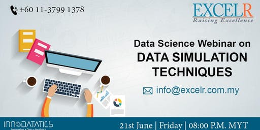 Free Data Science Webinar on DATA SIMULATION TECHNIQUES