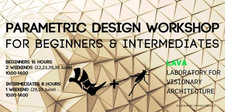 Parametric Design Workshop (Rhino + Grasshopper) LAVA Berlin tickets
