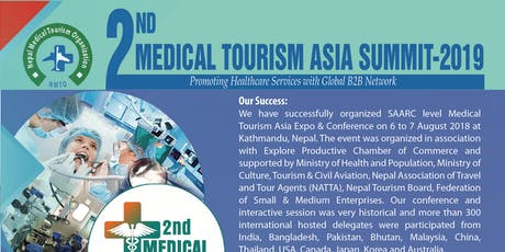 2nd Medical Tourism Asia Summit- 2019 tickets