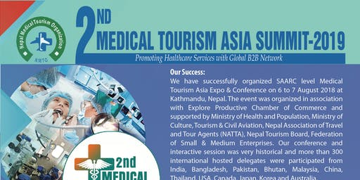 2nd Medical Tourism Asia Summit- 2019