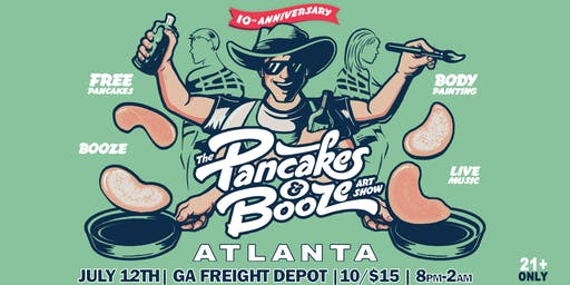 The Atlanta Pancakes & Booze Art Show