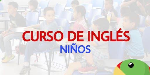 Curso de Niños: ¡Aprendamos Inglés: Dinàmico-Divertido!