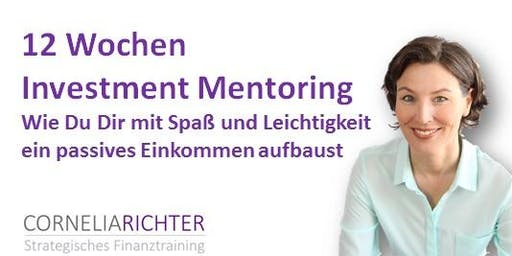 12 Wochen Investment Mentoring per live Zoom (Class#6)