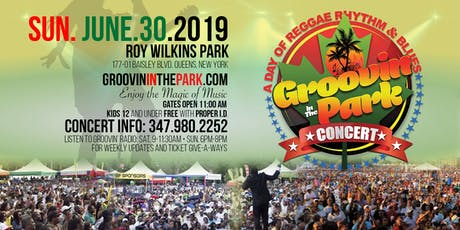 GROOVIN' IN THE PARK CONCERT 2019 tickets