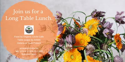 Long Table Lunch at Waterwheel Gallery