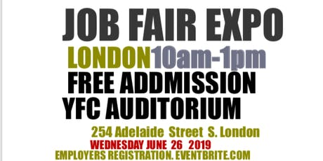 JOB FAIR & BUSINESS EXPO LONDON  (EMPLOYERS/EXHIBITOR REGISTRATION) tickets