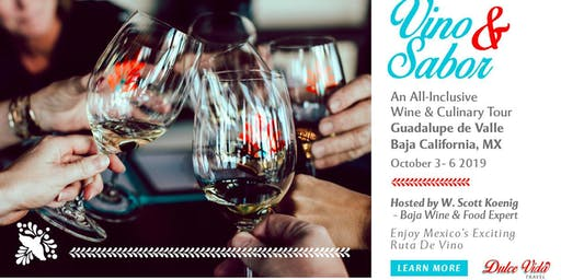 Sabor Y Vino - A Mexican Wine Tour