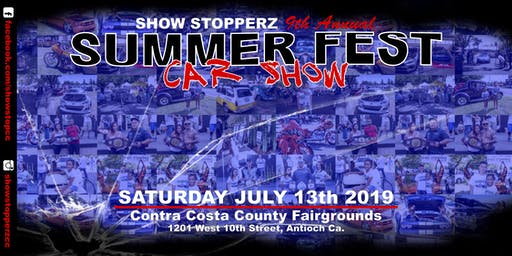 9th Annual SUMMER FEST CAR SHOW