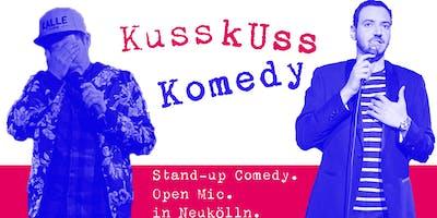 Stand-up Comedy: KussKuss Komedy am 24. April