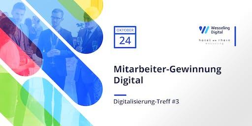 Digitalisierungs-Treff #3 - Mitarbeitergewinnung Digital