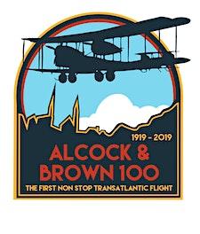 Alcock & Brown 100 Festival logo