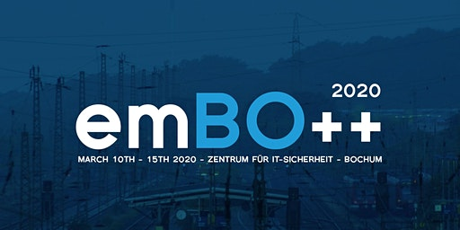 emBO++ 2020 - Embedded C++ & C Conference in Germany