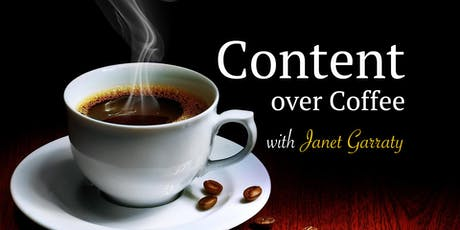 September Content Over Coffee tickets