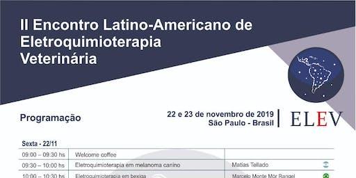 Encontro Latino-Americano de Eletroquimioterapia Veterinária