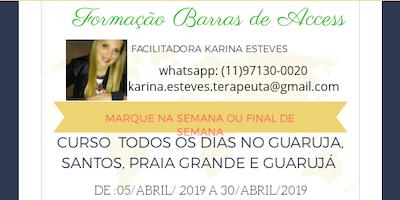 #CursoBarrasdeAccessGuaruja26/04