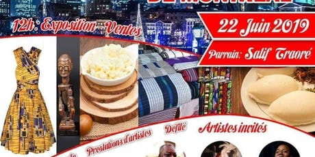 Le Grand marché africain Galbana billets