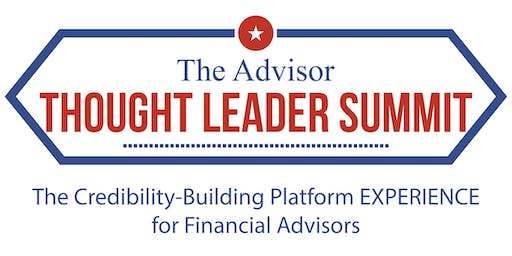 Celebrity Platform Day - The Advisor Thought Leader Summit 2019
