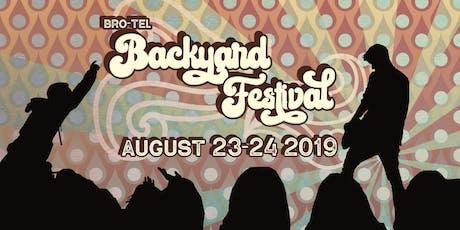 Bro-Tel Backyard Festival 2019 tickets