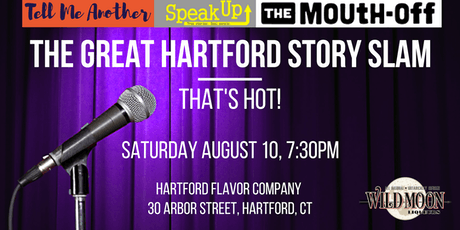 The Great Hartford Story Slam: That's Hot! tickets