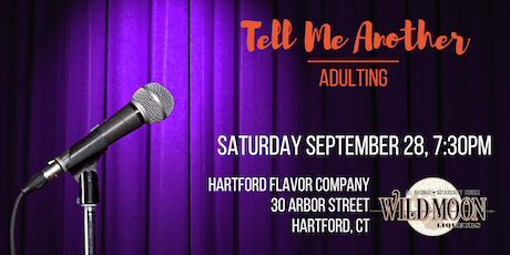 Tell Me Another: Adulting tickets