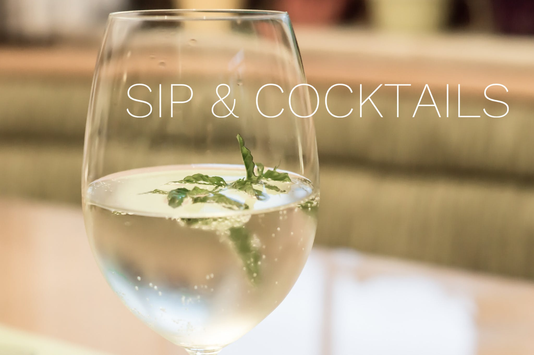 Sip & Cocktails Happy Hour Connection