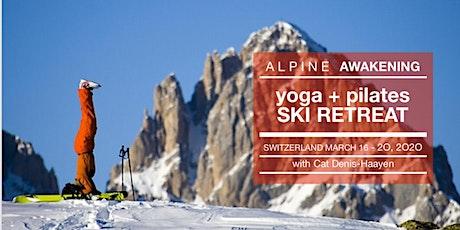 Alpine Awakening 2020 billets