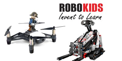 (9-12 Yrs)Dual Tech Camp: LEGO meets Drone