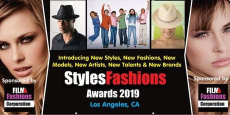 Styles & Fashions Awards 2019 - Fashion Show & Expo tickets