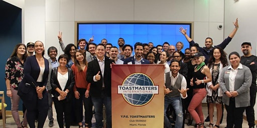 Public Speaking Club Miami - Y.P.E. Young Professional Entrepreneurs  ToastMasters Club