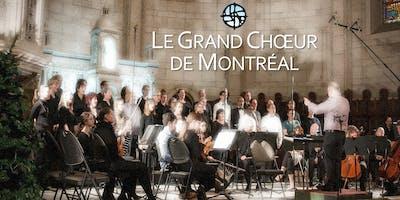 Grand Choeur de Montréal : Requiem (J. Rutter) & Stabat Mater (P. Mealor)