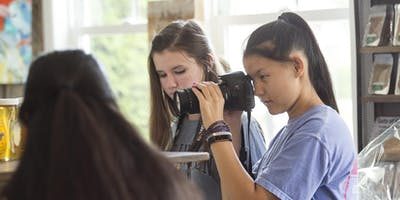 Teen Photography Summer Workshop; July 23-25, 2019