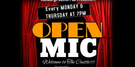 Open Mic At Edinburgh Castle Pub tickets