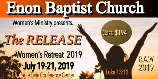 """The Release"" Women's Retreat 2019"