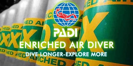 PADI Nitrox Enriched Air Diver Certification Class tickets
