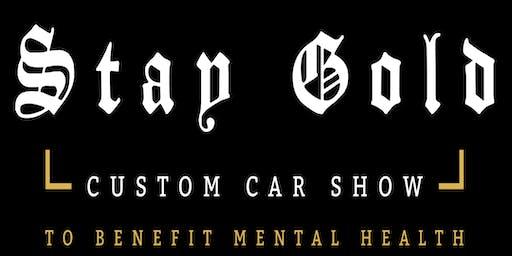 3rd Annual Stay Gold Custom Car Show