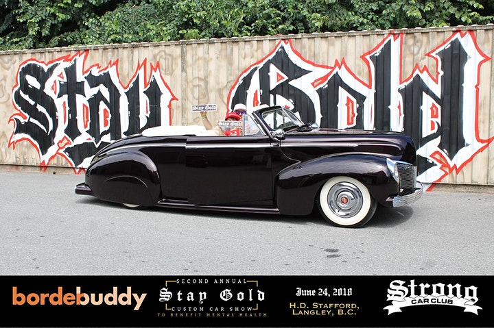 3rd Annual Stay Gold Custom Car Show image